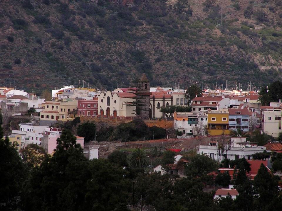 Iglesia de Santa Brigida isla de Gran Canaria
