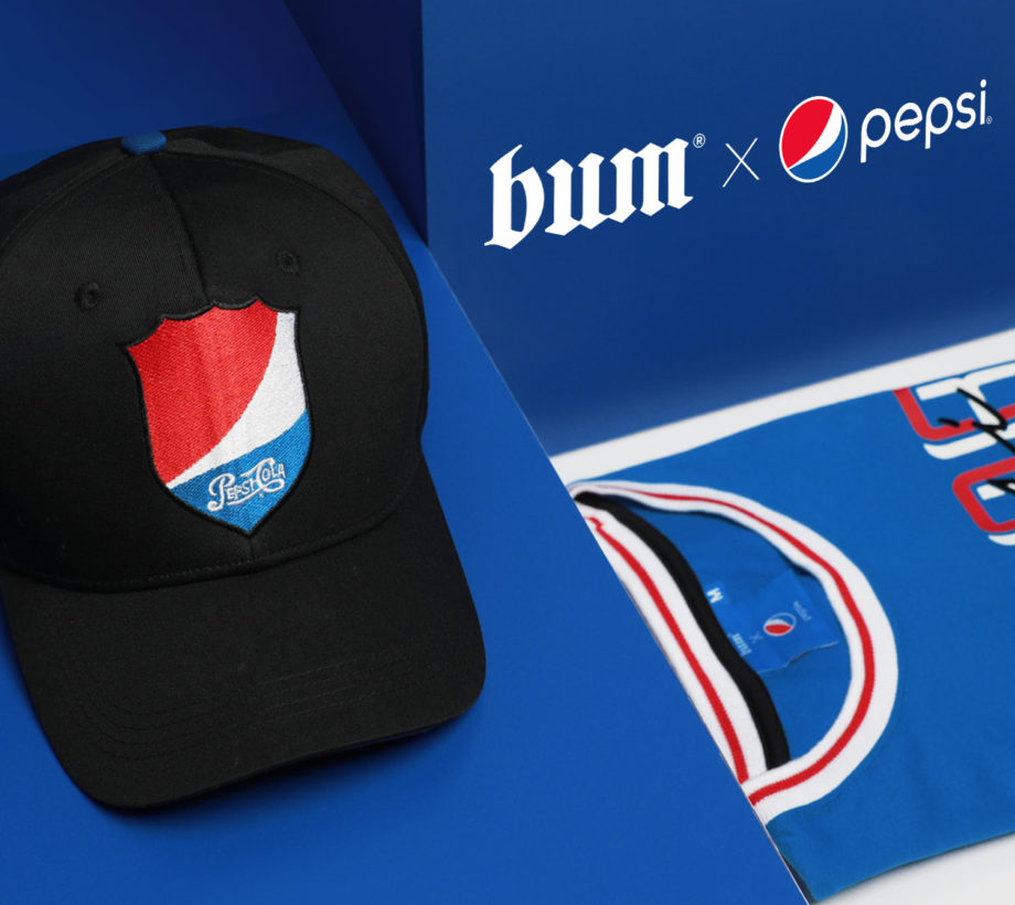 #BUMxPepsi must-have pieces collection