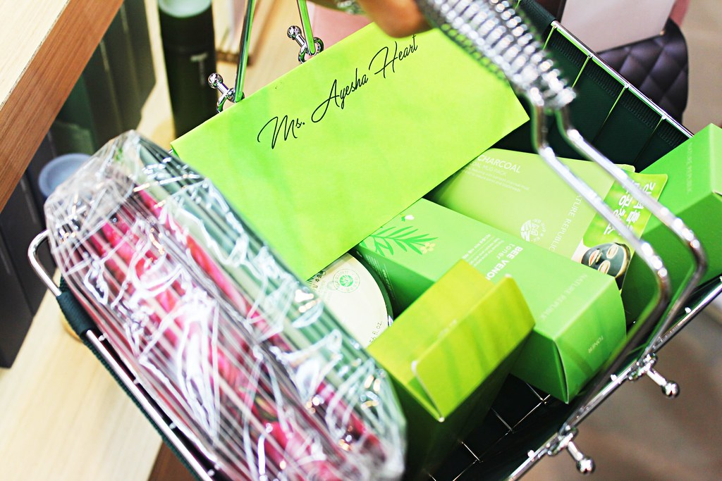 Ayesha Heart Nature Republic Shopping haul
