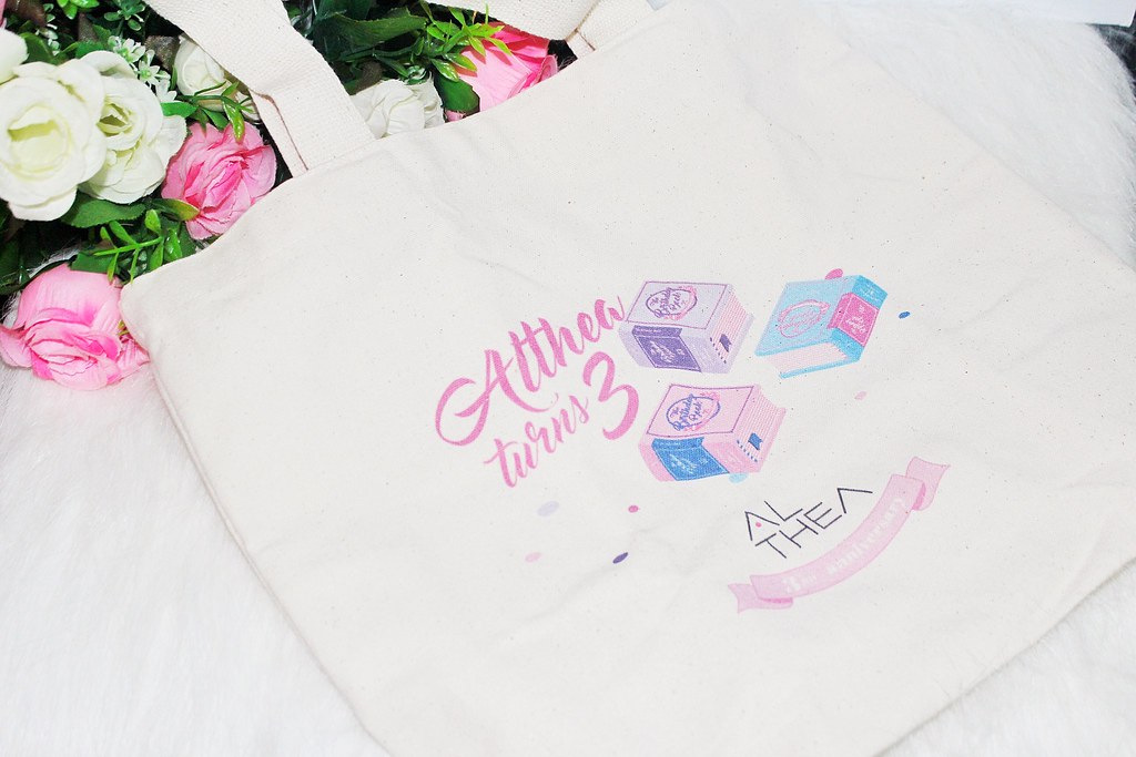 Premium Althea birthday tote bag
