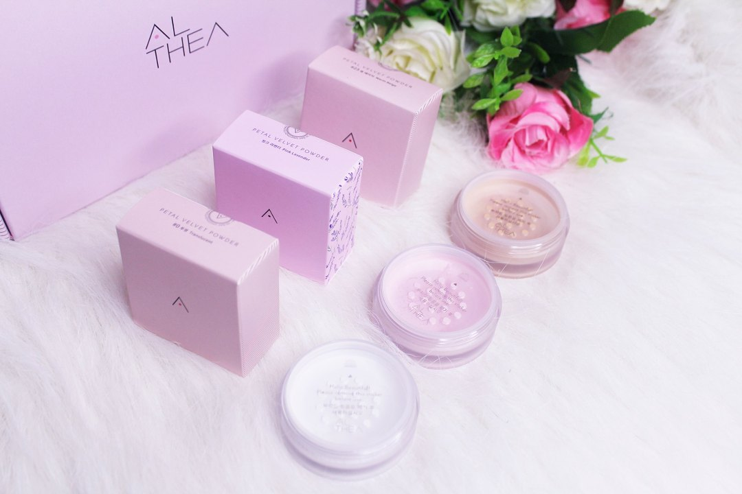 Althea Petal Velvet Powder Line