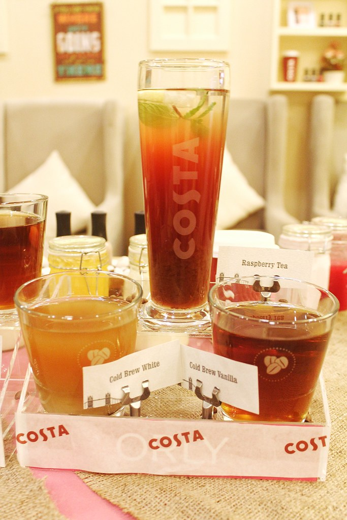 Costa Coffee Philippines New Cold Brews