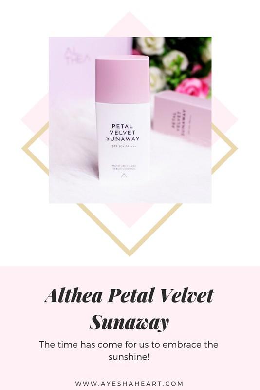Althea Korea Petal Velvet Sunaway