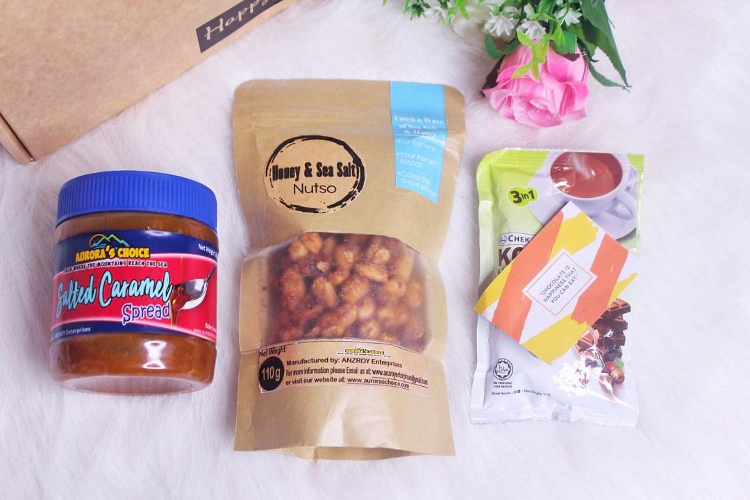 Happy Days Club Aurora's Choice Spread and Snacks, Chek Hup
