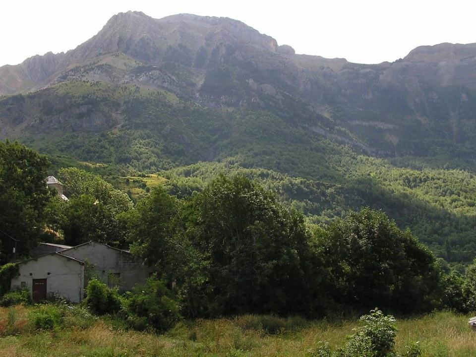 paisaje Hoz de Jaca Pirineo Aragones Huesca 22
