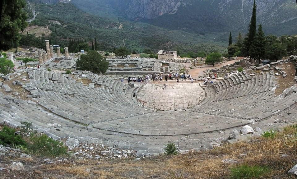 Grecia Oraculo de Delfos Teatro 24