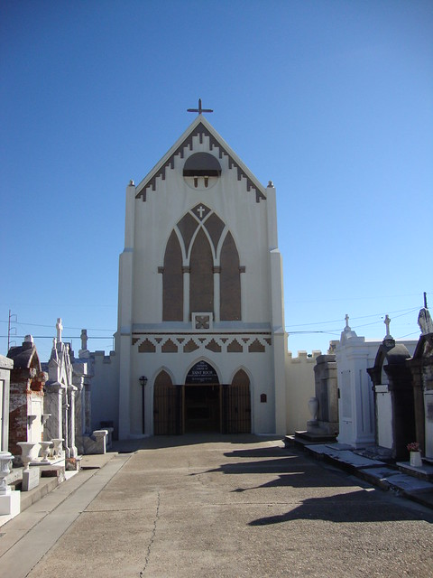 Saint Roch Cemetery and Shrine, New Orleans LA
