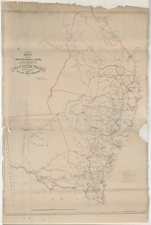 New South Wales   Map of the Post Towns Stations and Roads      Flickr     New South Wales   Map of the Post Towns Stations and Roads in the  Colony of