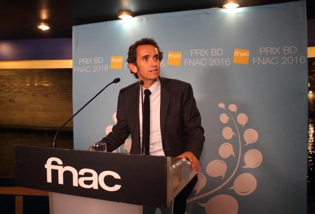 Alexandre Bompard - Prix BD Fnac 2016