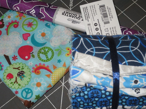 picked up a few fun fabrics to play with