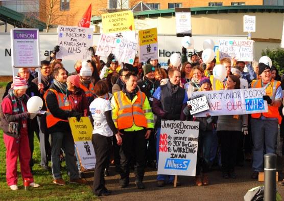Image result for junior doctors strike