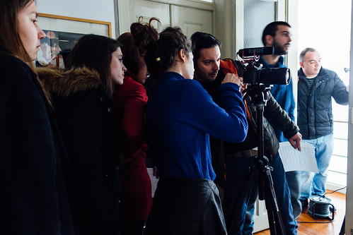 2016-03-20_15.41_Em-Paragem-Rodagem-Dia-1-cinemalogia, em paragem, Manuel Pinto Barros, Nuno Rocha, Pedro Adamastor, Rodagem_© Vanessa Gomes - CCP