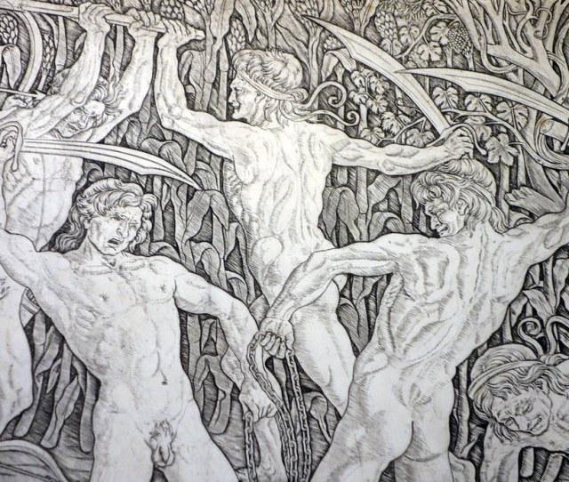 Battle Of Ten Nudes Detail By Profzucker