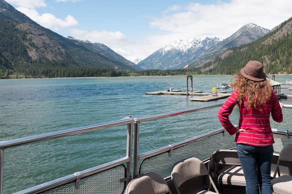 On the boat from Stehekin