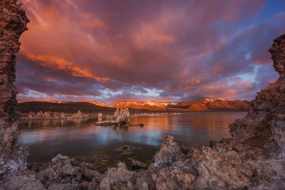 Mono Lake Tufa State Natural Reserve, Sunrise
