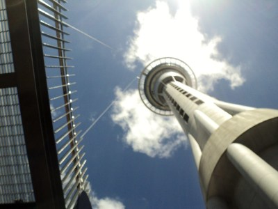 Auckland Sky Tower, New Zealand - the tea break project solo female travel blog