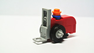 How to build a microscale Lego Forklift (MOC)
