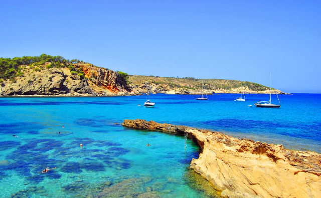 Cala Xarraca, Ibiza, Islas Baleares, Spain (Europe)