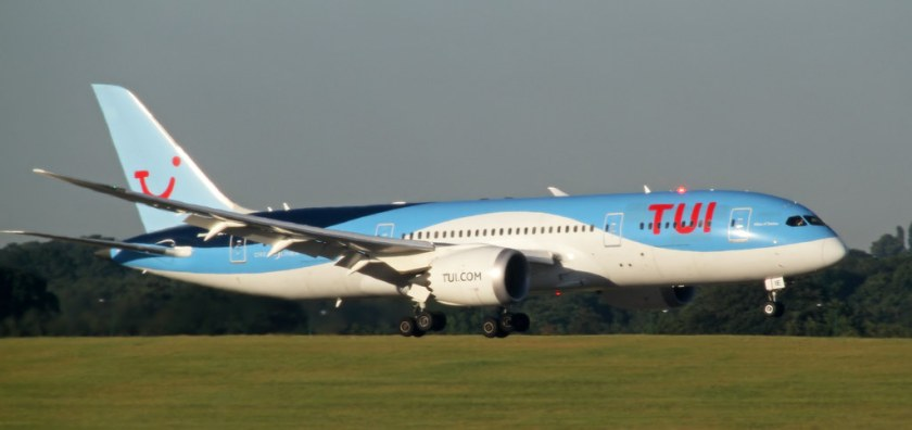 Bildresultat för tui airways boeing 787