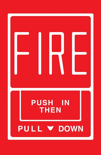 FIRE Push In Then Pull Down I Really Dig The Graphic