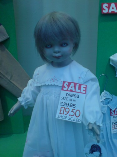 Scary Mannequin In The Window At Jacksons Corner Reading