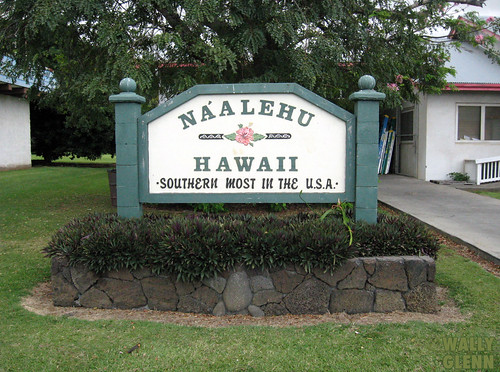 Naalehu Hawaii Southernmost Town In The United States Flickr