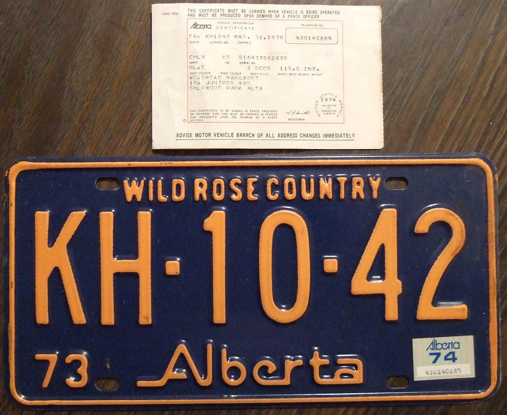 Pay Vehicle Registration Online Alberta