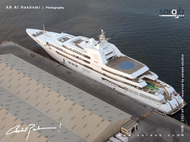 Sheikh Mohammed Bin Rashid Biggest Yacht Sheikh Mohammed B Flickr