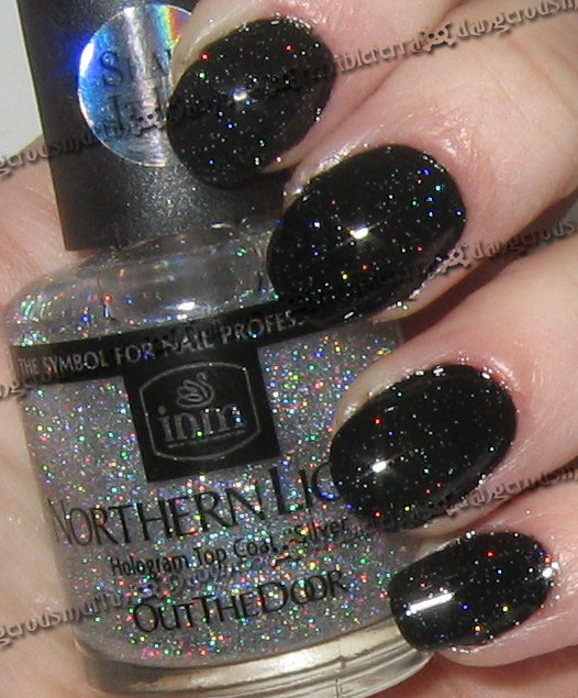 Northern Lights Hologram Top Coat Silver