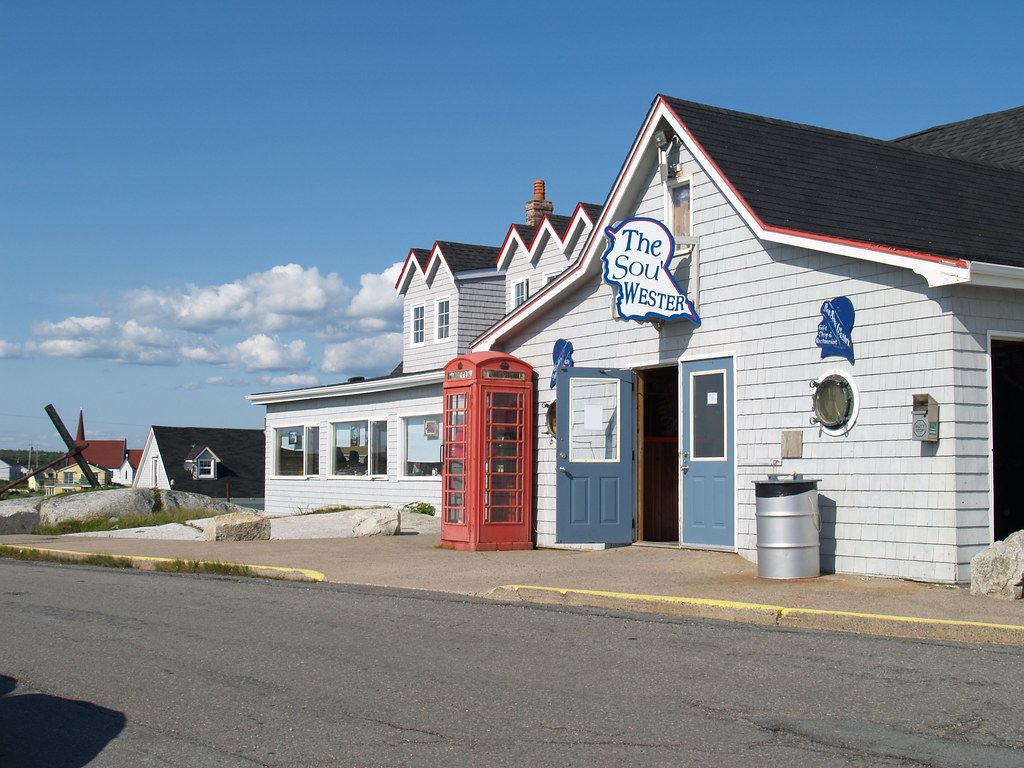 SouWester In Peggys Cove SouWester Restaurant And