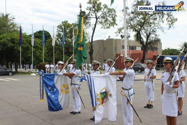 Aula inaugural e Incorporação da bandeira da Marinha Mercante