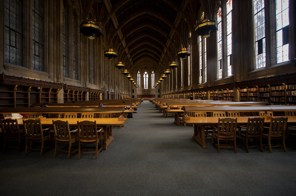 Welcome To Hogwarts This Is The Reading Room In The