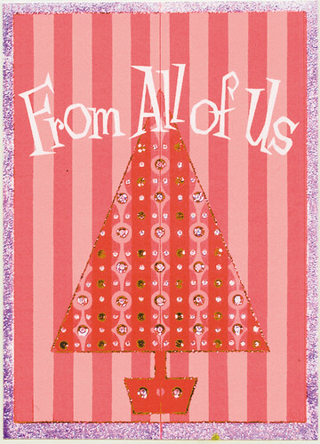 From All Of Us 1958 Greeting Card Art By John Hench