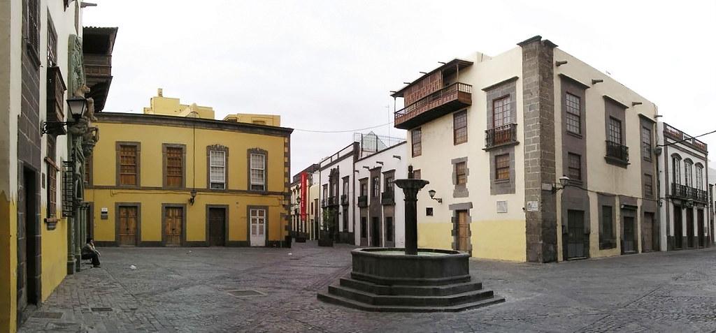 Plaza del Pilar Nuevo barrio de Vegueta Las Palmas de Gran Canaria 25