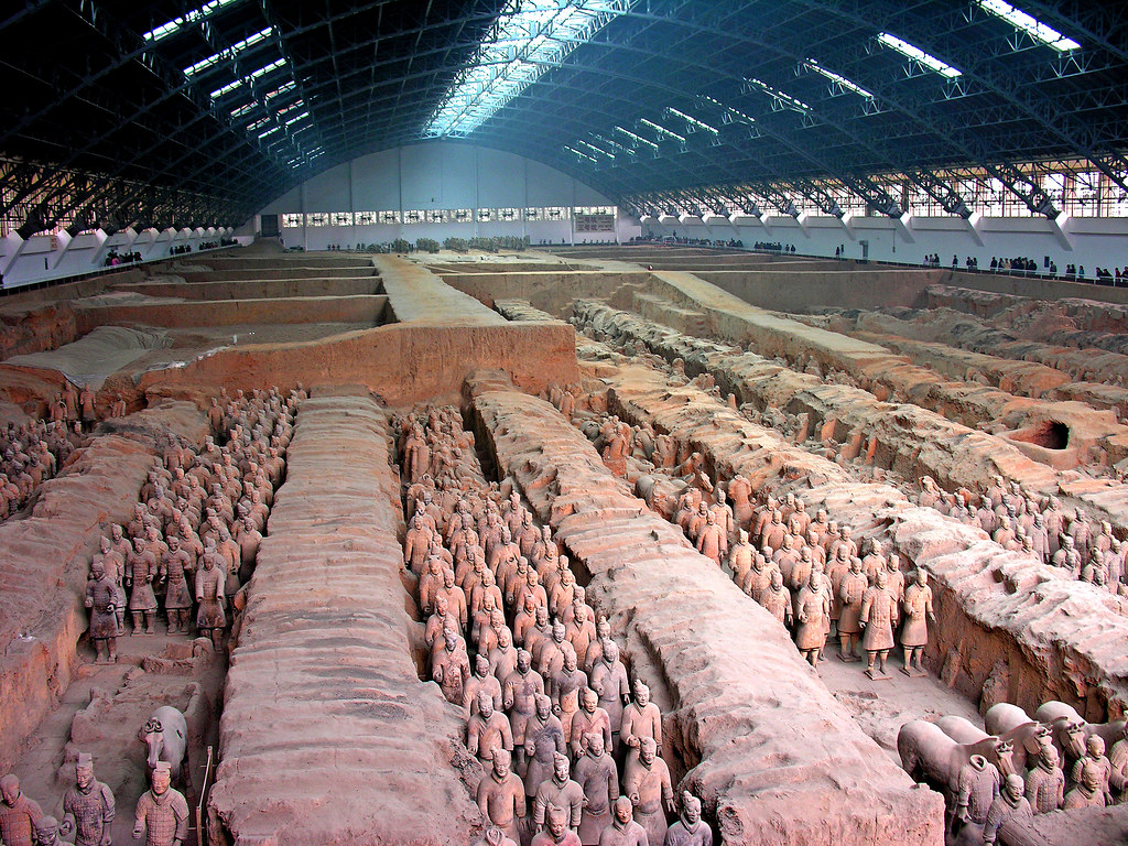 China 7159 Terra Cotta Warriors Please No Invitations