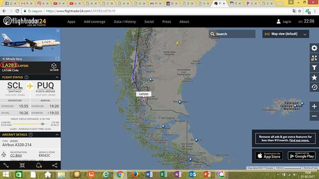 LXP283 - Punta Arenas