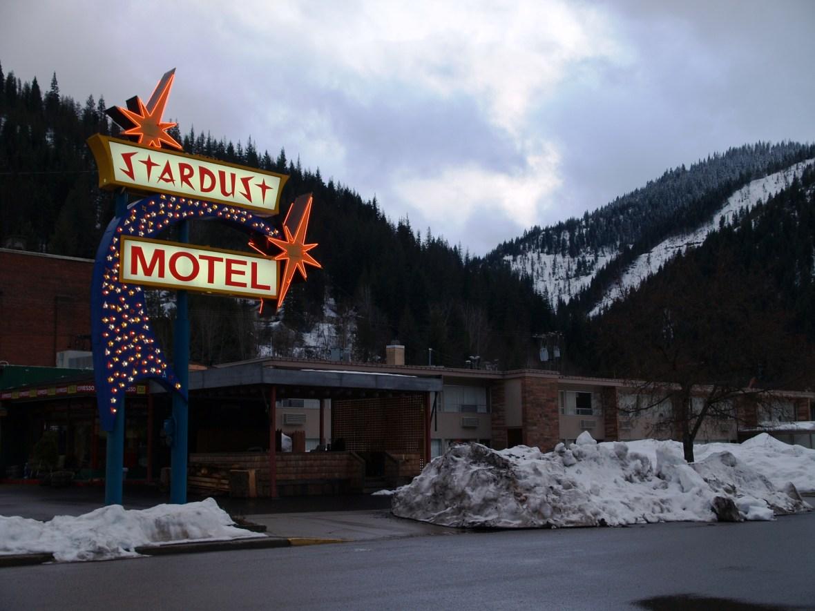 Stardust Motel - 410 Pine Street, Wallace, Idaho U.S.A. - March 17, 2008