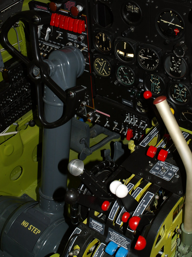 B26 Invader Cockpit