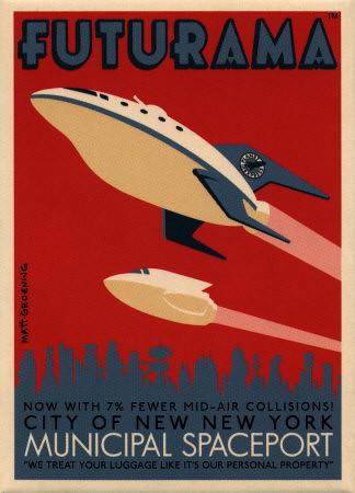 Futurama Poster Of All The Futurama Posters I Like This