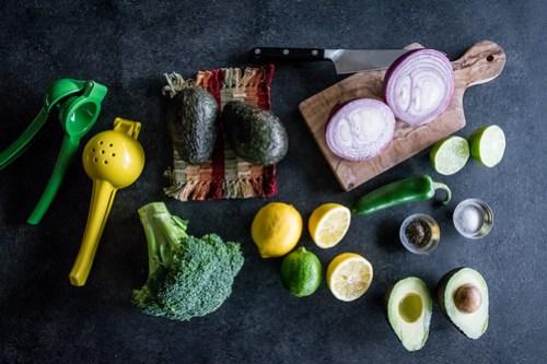 fresh produce for the broccamole