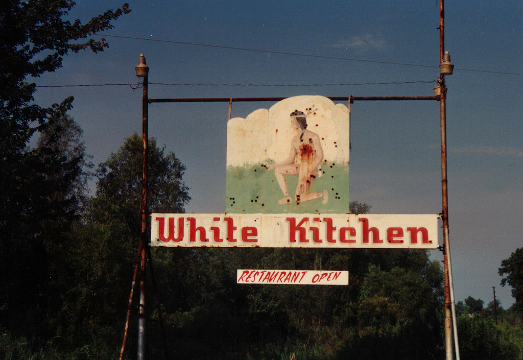 White Kitchen Highway 90 Louisiana