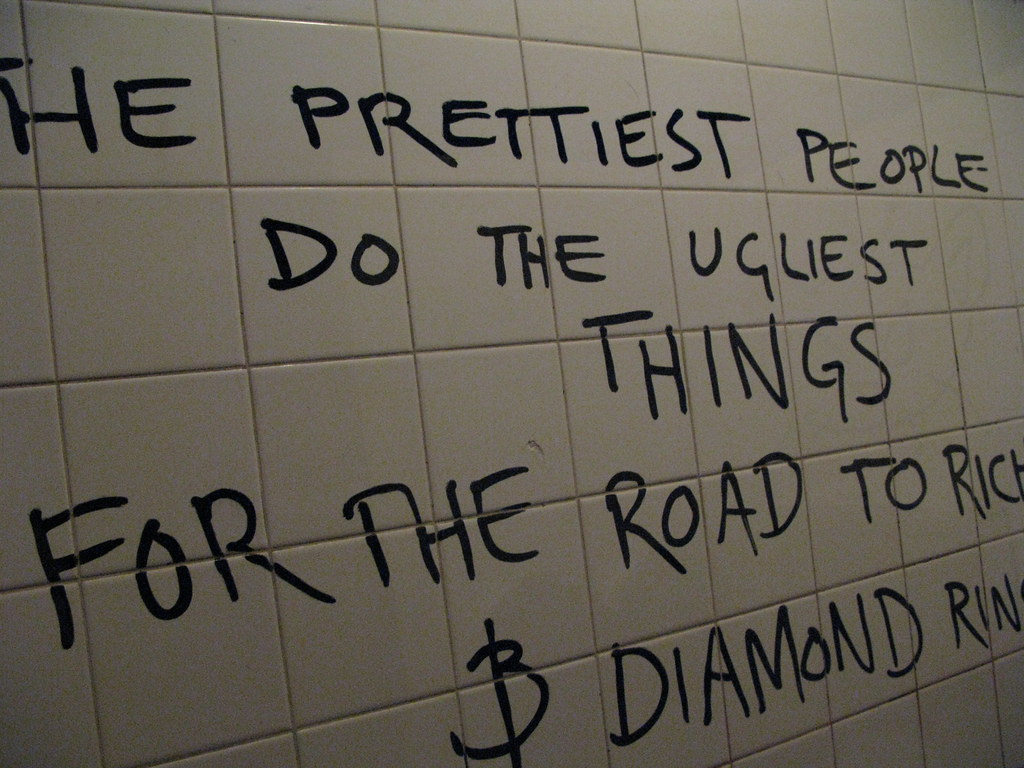 The Prettiest People Do The Ugliest Things For The Road To