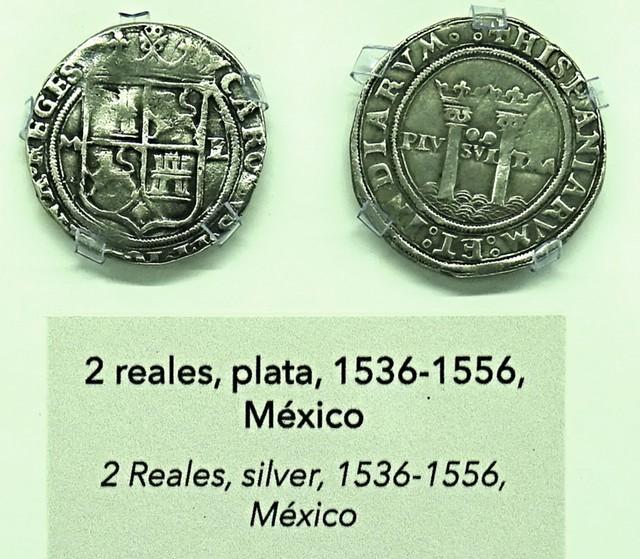 Monedas Siglo XVI Museo Numismática Banco Central San José de Costa Rica 04