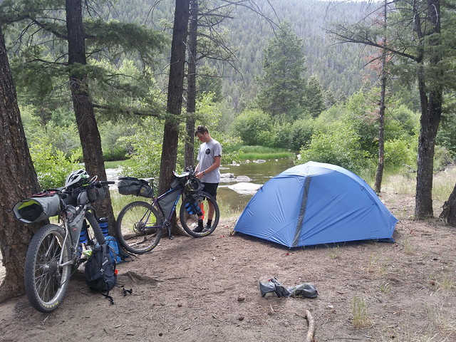 Boulder river camp site