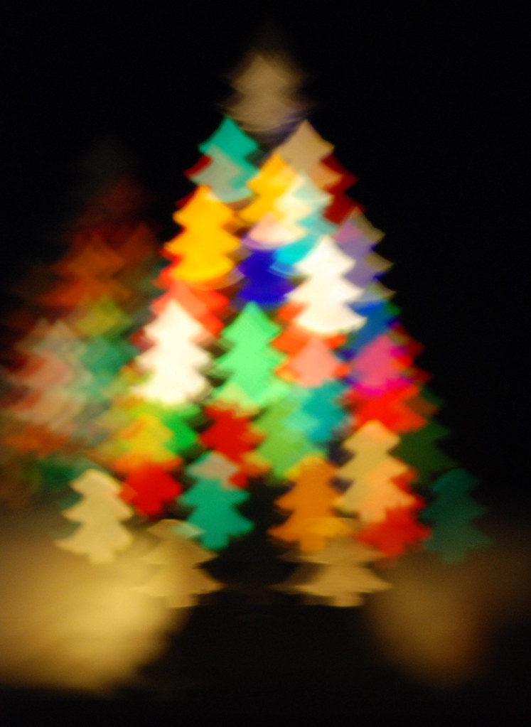 Christmas Tree Bokeh 2 This Image Has Some Rights Reserved Flickr