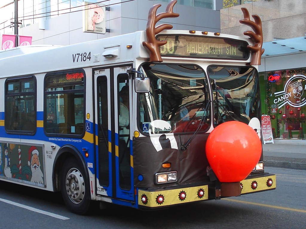Rudolph The Next Day I Saw This Bus On Route 15 Same