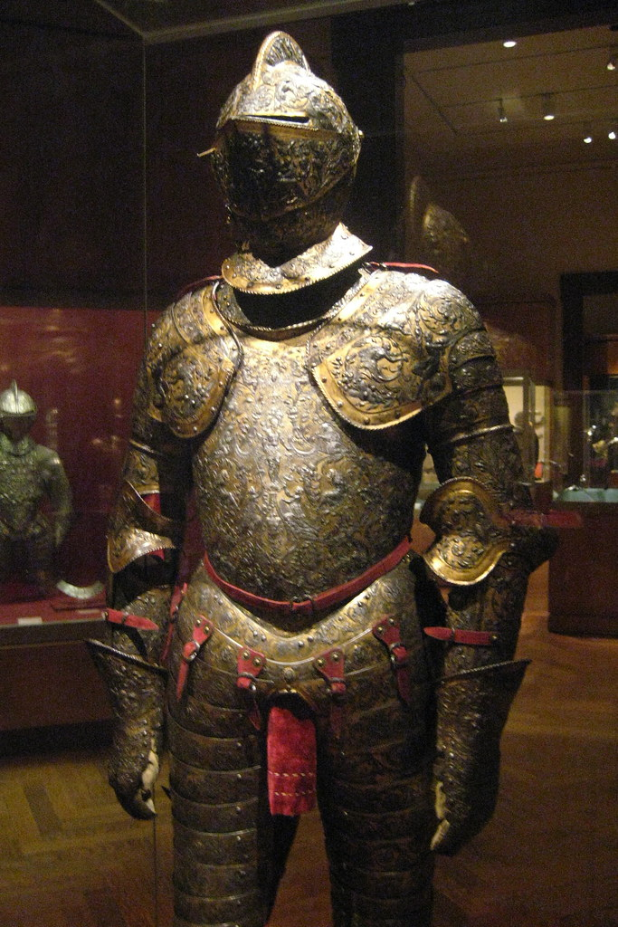 Nyc Metropolitan Museum Of Art Armor For Henry Ii Of F