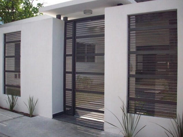 stunning modern gate design ideas 4