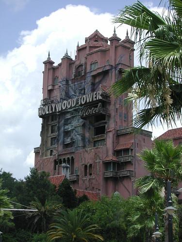 Hollywood Tower Hotel Disney MGM Studios Walt Disney Wor