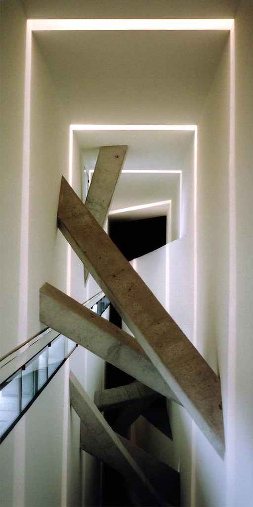 Germany Berlin Jewish Museum Interior The Stair 2